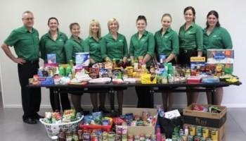 Aussie Helpers Food Drive