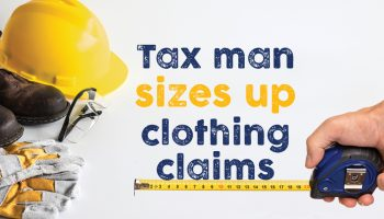 Tax man sizes up clothing claims