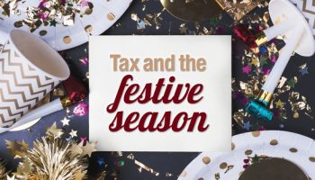 Tax and the festive season