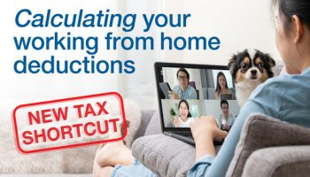 New tax shortcut for employees working from home