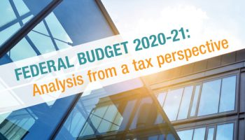 Federal Budget analysis from a tax perspective