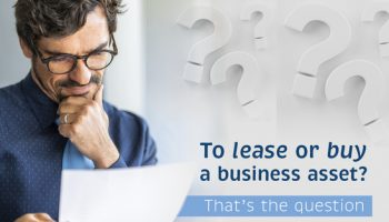 To finance or buy a business asset? That's the question